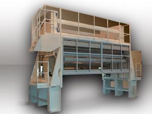 Dérouleur motorisé - Laize 3600 mm - Diamètre 1300 mm - Vitesse : 200 m/min