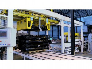 Rolls palletizing line