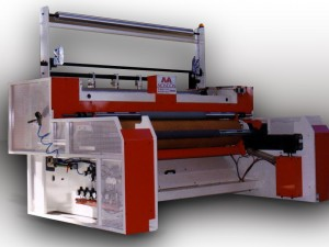 Winder POP with automatic change - Width: 2000 mm - Diameter: 1200 mm - Speed: 200 mpm