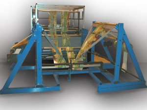Double folders for double tracks bag making machine - Width : 500 à 1200 mm