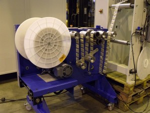 Spool with movable bobbin - 500 x 500 mm
