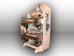 Flexographic printing unit, 2 colors or Recto/Verso - Width : 800 mm - Speed : 80 m/min