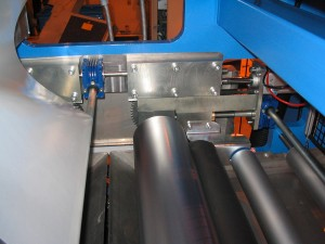 Coater with embossing roll - Width : 500 mm - Speed : 50 m/min
