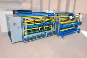 Enrouleur automatique double barillet - FTW3200 - Laize : 2600 mm, diamètre : 400 mm, vitesse : 150 m/min