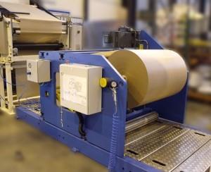 Unwinder UW1000 - Width : 1000 mm ; diameter : 1000 mm ; speed : 250 m/min
